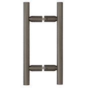 "CRL 6"" Ladder Style Back-to-Back Pull Handles"